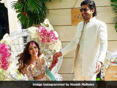 Inside Mohit Marwah's <i>Mehendi</i> Ceremony. See Pics And Videos