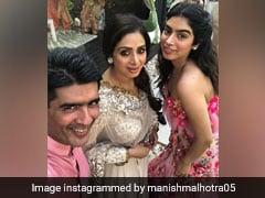 Inside Photos: कजिन की शादी में श्रीदेवी की बेटी पर टिकी निगाहें, सोनम-अर्जुन कपूर भी पहुंचे