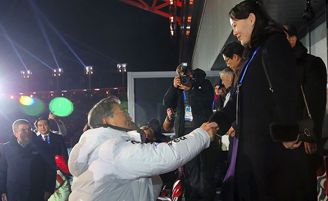 South Korean President Meets Kim Jong-Un's Sister, Hopes To Resolve Nuclear Standoff