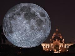 Giant Replica Of Moon Unveiled At Kolkata's Victoria Memorial
