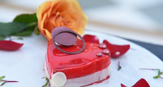 Valentine Strawberry Mousse
