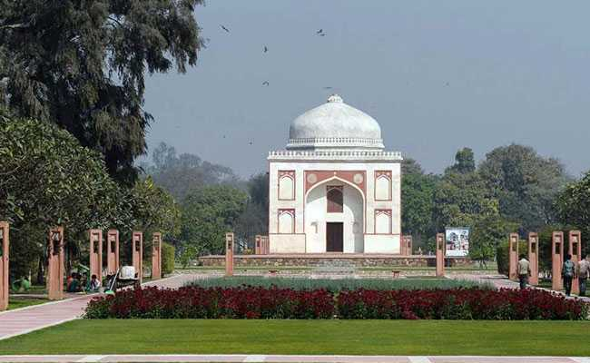 A Once-Forgotten Mughal Garden Reopens In Delhi As Public Park