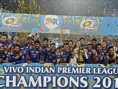 IPL 2018: Mumbai Indians Play Chennai Super Kings In Opener; Wankhede To Host Final On May 27