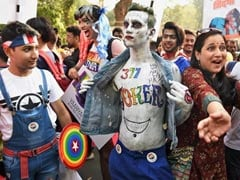 """Section 377 Quit India"": LGBT Community Walks In Mumbai Pride March"