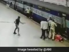 Mumbai Woman Nearly Fell Under Moving Train. How She Was Rescued