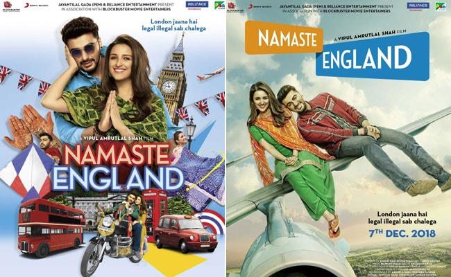 Namaste England का फर्स्ट लुक हुआ रिलीज, अर्जुन कपूर और परिणीति की दिलचस्प कैमिस्ट्री