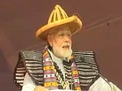 """Think Traffic Lights. Red Stops Development"": PM Modi Tells Tripura"