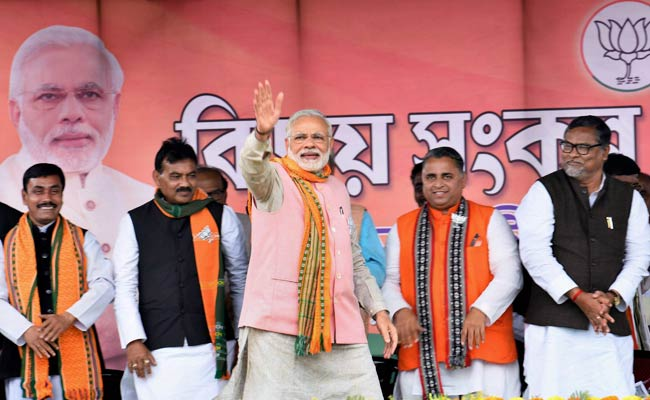 BJP Developing Northeast India, Tripura Backward Due To Left: PM Modi