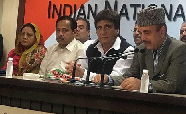 कांग्रेस में शामिल हुए बीएसपी के पूर्व नेता नसीमुद्दीन सिद्दीकी, गुलाम नबी आजाद ने कहा - यह बदलते समय का संकेत