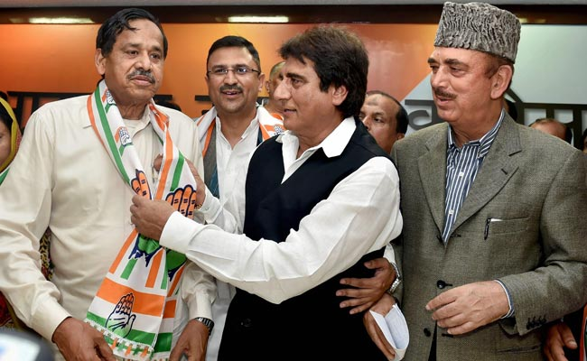 Naseemuddin Siddiqui, Sacked By Mayawati, Joins Congress