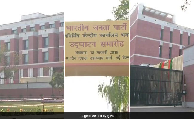 PM inaugurates BJP's new headquarters at Delhi, party committed to 'Rashtra Bhakti'