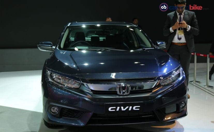 Honda Has Showcased The Civic In India At Auto Expo 2018