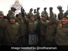 Nirmala Sitharaman Boosts Army's Morale During First Visit To Ladakh's Highest Post