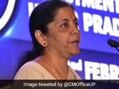 यूपी इन्वेस्टर्स समिट: निर्मला सीतारमण ने कहा, मात्र 18 दिन में तैयार हो गयी थी रक्षा गलियारे की रूपरेखा