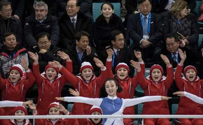 North's Famed 'Army Of Beauties' Seduces As Koreans Suffer Hockey Rout