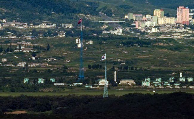 North And South Korea Exchange Gunfire Across Demilitarized Zone