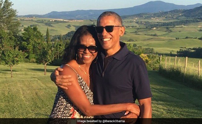 Barack And Michelle Obama Shower Love On Each Other On Valentine's Day
