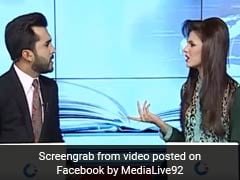 Watch: Pakistani News Anchors Fight Behind The Scenes. Leaked Video Is Viral