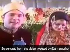 अपनी ही शादी में रिपोर्टिंग करने लगा दूल्हा, सासू मां से पूछा- कैसा लग रहा है बेटी की शादी में