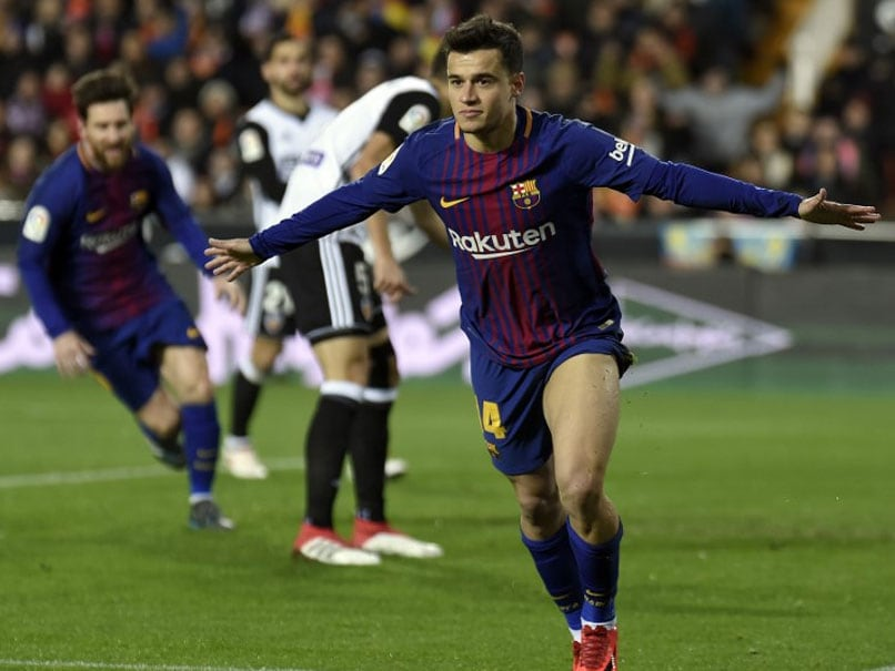 Coutinho Opens Barcelona Account In Copa Del Rey Win Over Valencia