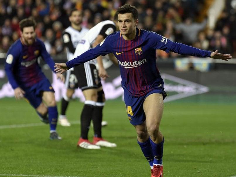 Philippe Coutinho Opens Barcelona Account In Copa Del Rey Win Over Valencia
