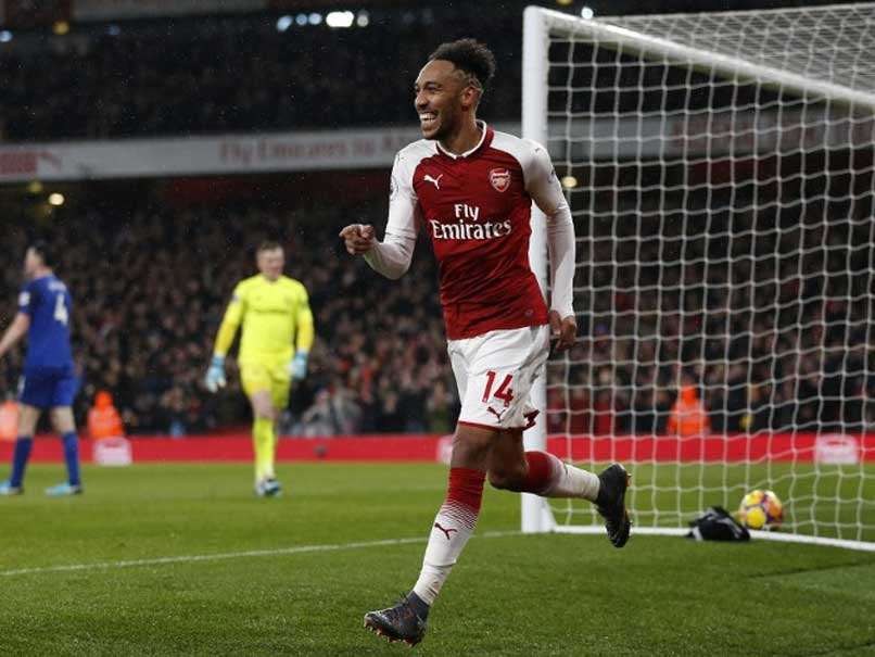 Pierre-Emerick Aubameyang Bags Debut Goal, Aaron Ramsey Treble As Arsenal Crush Everton