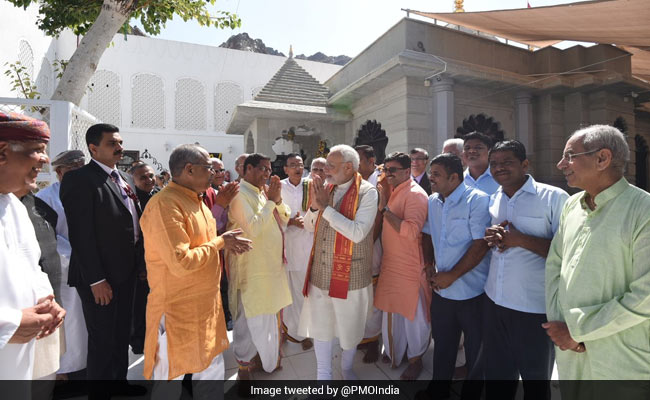 PM Modi Visits Shiva Temple In Oman