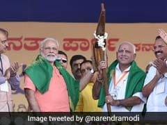 """<i>Seedha Rupaiya Sarkar</i>"": PM Modi's Jibe At Siddaramaiah Government"