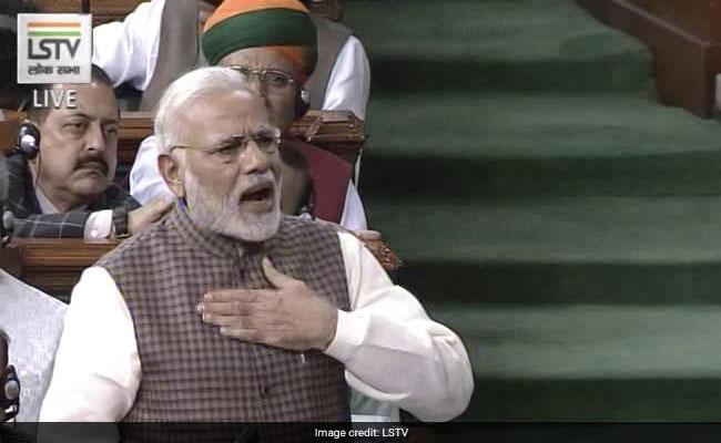 A Rajiv Gandhi Story on 'Telugu Pride' In PM Modi's Parliament Offensive