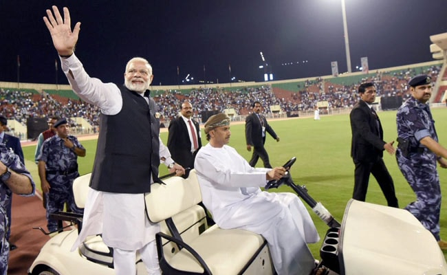pm modi indian community oman pti
