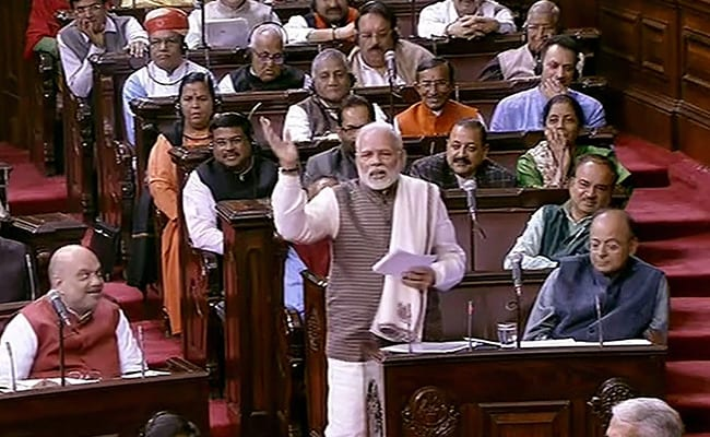 pm modi parliament 650