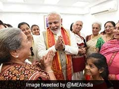 Narendra Modi In Oman Highlights: PM Visits Temple, Grand Mosque In Muscat