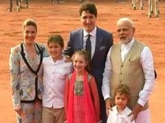 Canadian PM Meets Sushma Swaraj, To Discuss India Canada Ties