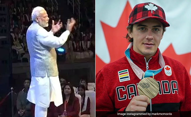 PM Modi Talks Of Canadian Olympian's Inspiring Story. His Response