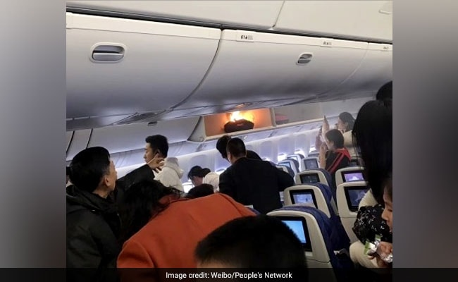 Video Power Bank In Overhead Bin Catches Fire On China Southern