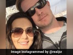 Preity Zinta Celebrates Birthday With '<i>Pati Parmeshwar</i>' Gene Goodenough In Los Angeles