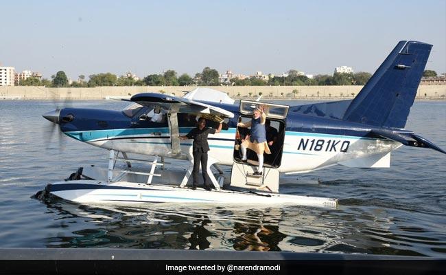 prime minister narendra modi seaplane