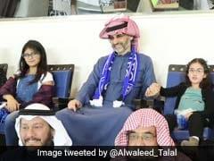 Newly Free Saudi Prince Alwaleed Gives To Soccer Club