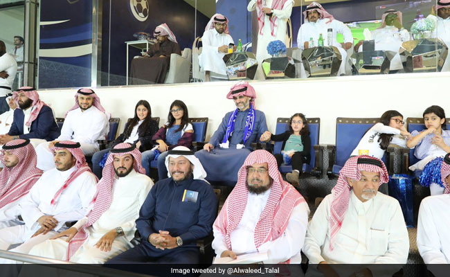 Newly Free Saudi Prince Alwaleed Gives To Soccer Club