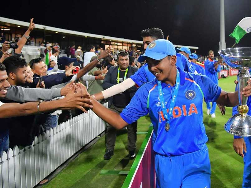U-19 World Cup Final: Feels Good To Make India Proud, Says Prithvi Shaw