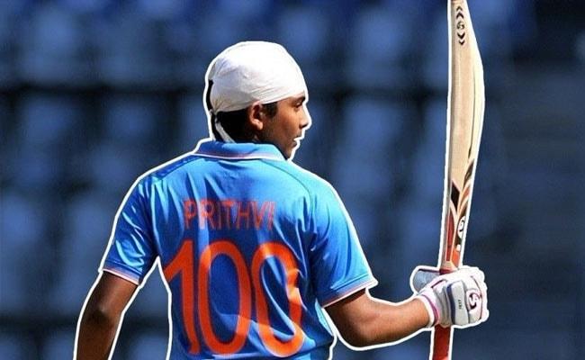 ...इसीलिए भारतीय जूनियर कप्तान पृथ्वी शॉ पहनते हैं 100 नंबर की जर्सी