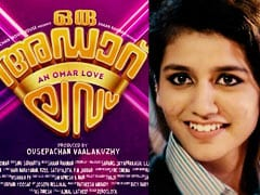 Controversy Over Song That Made Priya Prakash Varrier A Star, Case Filed