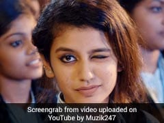 Priya Prakash Varrier Reveals Name Of Her Favourite Indian Cricketer