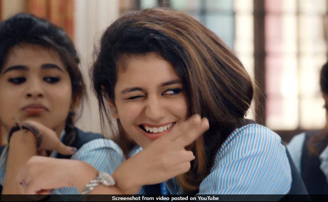 The Wink Is Old News. Priya Prakash Varrier's Flying Kiss Is How You Break The Internet