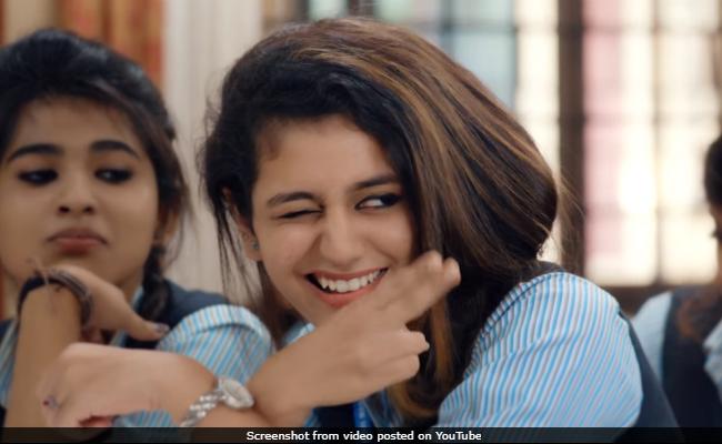 आंखें मटकाने के लिए ऐसे हुआ था Priya Prakash का मेकअप, सामने आया Video