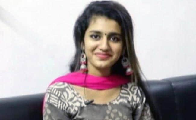 VIRAL VIDEO में छाईं प्रिया प्रकाश ने NDTV से आंख मारने वाले सीन पर कहा - अचानक ही करवाया गया...