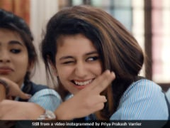 <i>Oru Adaar Love</i>: Priya Prakash Varrier Shares Audio Snippet Of New Song Minus The Wink