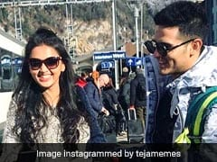 Priyank Sharma And Tejasswi Prakash Light Up Instagram With Stunning Pics From Switzerland