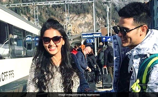 Priyank Sharma And Tejasswi Prakash Light Up Instagram With Stunning Pics From Switzerland