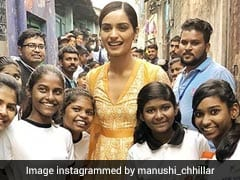 Inside Miss World Manushi Chhillar's 'Beauty With A Purpose' Tour